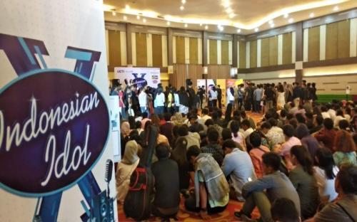 Audisi Indonesian Idol di Medan