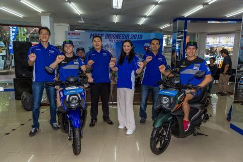 Peluncuran warna baru Yamaha X-ride