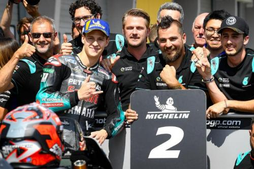 Fabio Quartararo tampil apik di MotoGP 2019