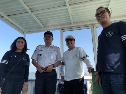 Menpar Arief Yahya di kapal