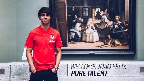 Joao Felix rekrutan anyar Atletico Madrid