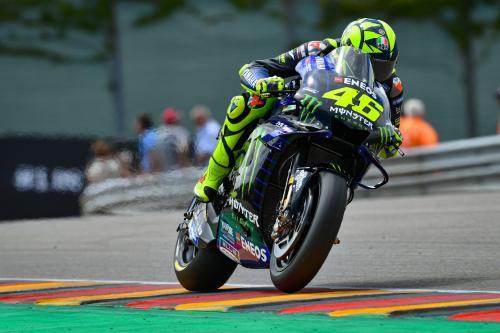 Valentino Rossi di MotoPG Jerman 2019