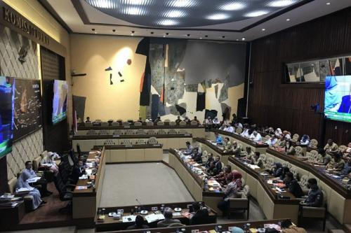 RDP Komisi II dengan KPU