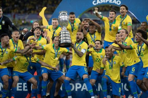 Timnas Brasil juara Copa America 2019
