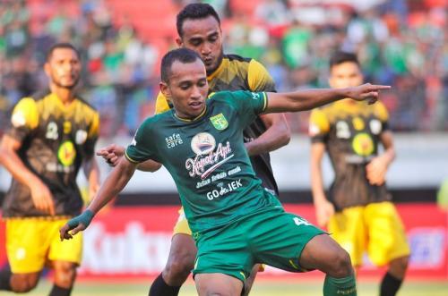 Persebaya Surabaya sementara ditangani Bejo Sugiantoro