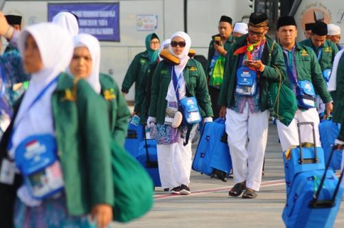 Jamaah haji Indonesia. (Foto: Antara)