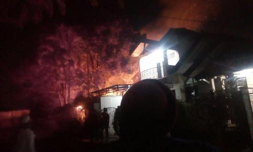 Kebakaran di Ciputat