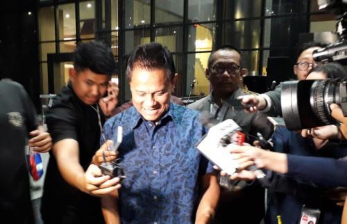 Mantan Direktur PT Mugi Rekso Abadi (MRA), Tersangka Korupsi Pesawat Garuda Soetikno Soedarjo. (Foto : Arie Dwi Satrio/Okezone)