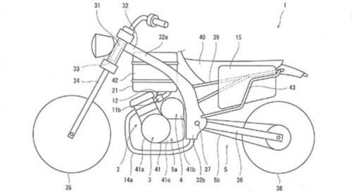 gambar paten motor hybrid