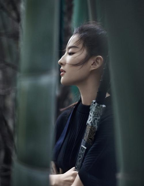 Di luar urusan akting, Liu Yifei diketahui sempat menjalin asmara dengan aktor populer Korea, Song Seung Heon.