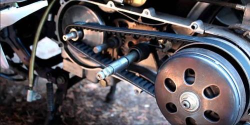Mesin motor matik