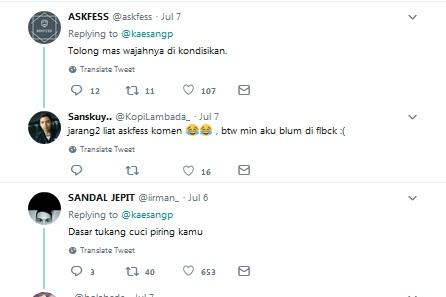 Kaesang Pangarep twitt