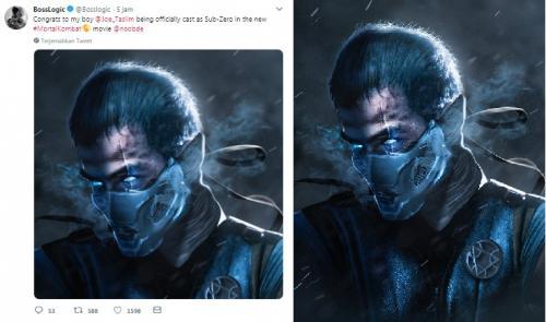 Joe Taslim sebagai Sub-Zero versi Boss Logic