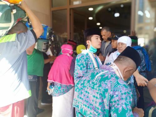 Moh Al Jufri Ahyi alias Singgit Pergi Haji Diusia 17 Tahun (foto: Widi Agustian/Okezone)