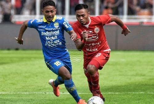 Persija Jakarta vs Persib Bandung foto twitter persija