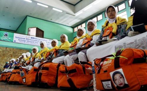 Jamaah haji Indonesia. (Foto: Okezone)