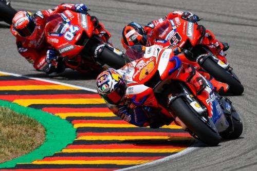 Jack Miller di MotoGP Jerman 2019