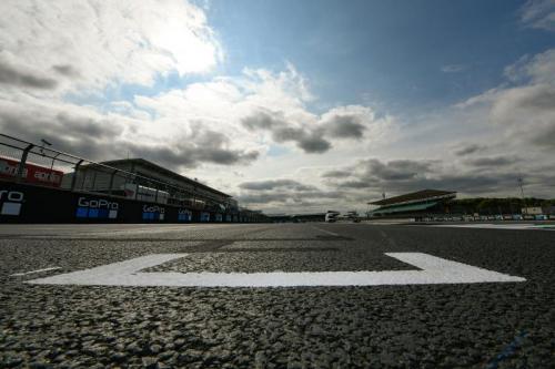 Sirkuit Silverstone diaspal ulang (Foto: MotoGP)