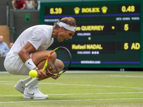 Roger Federer bersua Rafael Nadal di semifinal Wimbledon 2019