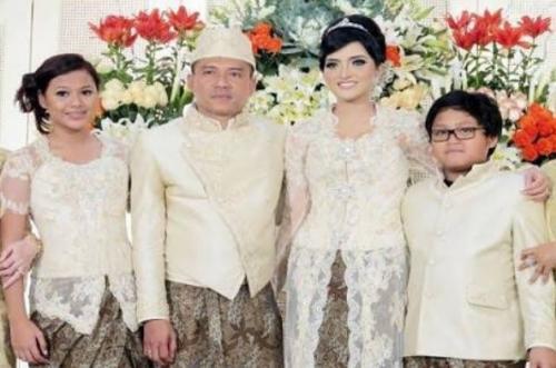 Aurel di pernikahan Anang-Ashanty