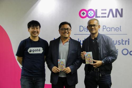 Melon dan Agate Bentuk Oolean untuk Majukan Industri Game di Indoensia