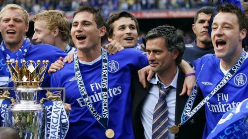 Jose Mourinho dan Frank Lampard pernah bahu membahu di Chelsea