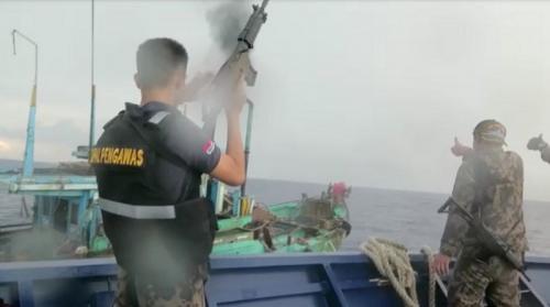 KKP dan Bakamla Tangkap 6 Kapal Ilegal Vietnam (Dok KKP)