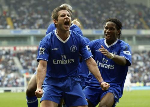 Frank Lampard sering mencetak gol ketika aktif bermain