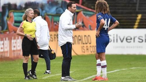 Frank Lampard mulai melatih Chelsea