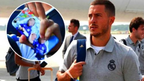 Eden Hazard menjadi pemain anyar Madrid