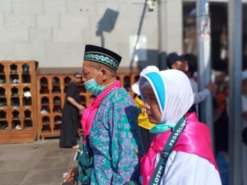 Jamaah haji Indonesia. (Foto: Widi Agustian/Okezone)