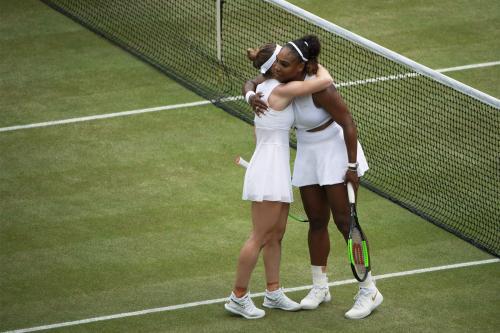 Simona Halep dan Serena Williams