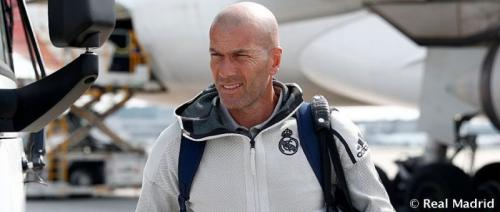 Zinedine Zidane (Foto: Twitter Real Madrid)