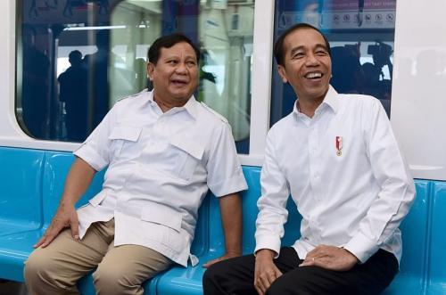 Jokowi dan Prabowo (Foto: Muchlis/Biro Pers Kepresidenan)
