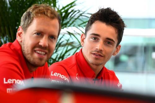 Charles Leclerc menjadi rekan setim Sebastian Vettel mulai musim F1 2019 (Foto: Scuderia Ferrari)