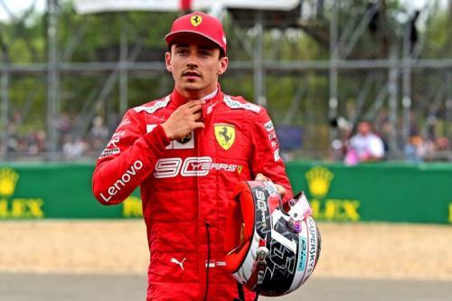 Charles Leclerc raih podium ketiga di F1 GP Inggris 2019