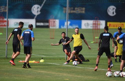 Pemusatan latihan Inter Milan di Lugano (Foto: Situs resmi Inter Milan)