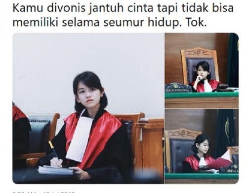 Hakim cantik