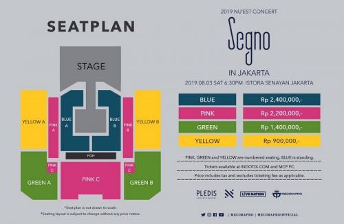 Tiket konser NU'EST