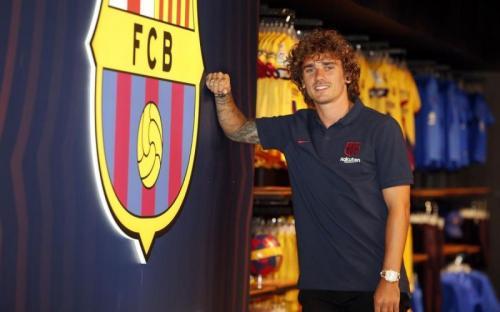 Antoine Griezman resmi jadi pemain Barcelona