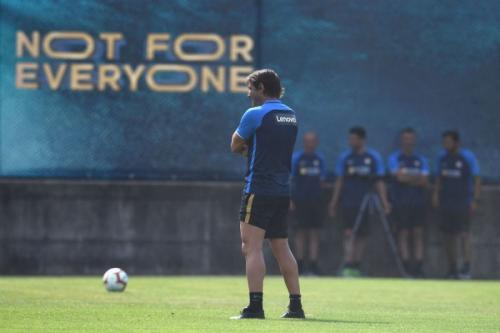 Inter Milan sedang merintis jalan menjadi yang terbaik bersama Antonio Conte (Foto: Situs resmi Inter Milan)