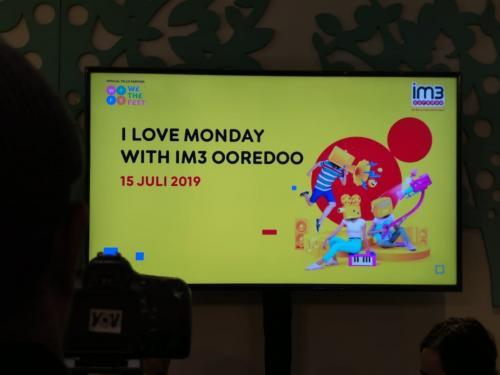 IM3 Ooredoo menjadi official telco partner resmi ajang musik tahunan We The Fest 2019.