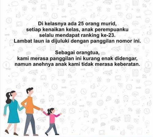 Hari Pertama Sekolah Cerita Haru Dari Seorang Ayah Yang