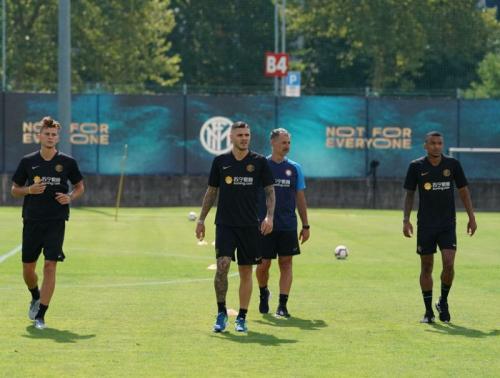 Mauro Icardi hanya dua hari berada di pemusatan latihan Inter Milan (Foto: Situs resmi Inter Milan)