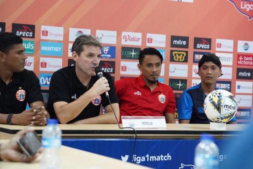Persija Jakarta konferensi pers