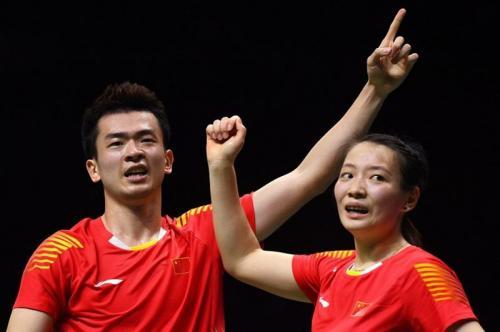Zheng Siwei dan Huang Yaqiong tampil membela China
