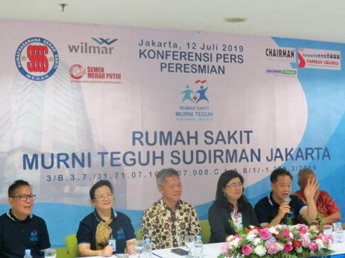 Peresmian RS Murni Teguh Sudirman Jakarta