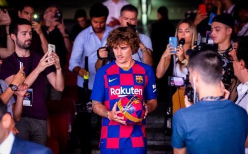 Antoine Griezmann masih kesulitan beradaptasi di Barcelona