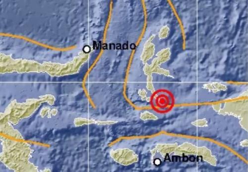 Gempa Halmahera Selatan. (Foto: Ist)