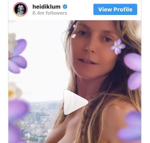 Heidi Klum Instagram